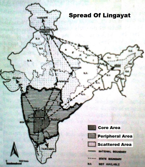 Spread of Lingayat in India