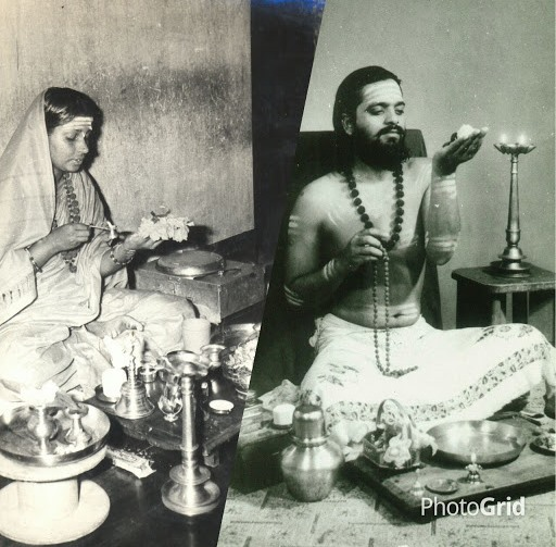 Appaji in Ishtalinga puja